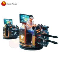 China Coin Operated Virtual Reality Simulator / Gun Shooting Fight Battle Sim Racing Game Simulator on sale