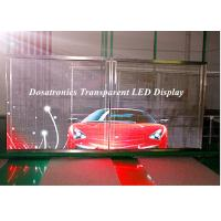 Wholesale P10mm Behind Glass Mounted LED Curtain Display LED Perimeter Boards from china suppliers