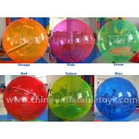 Wholesale Commercial Grade Colorful 0.8mm PVC Inflatable Water Walking Ball for swimming pool from china suppliers