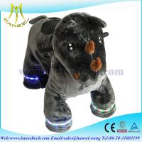 Wholesale Hansel animal kiddie rides motorized animals stuffed from china suppliers