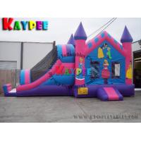 Wholesale House tunnel Combo ,inflatable bouncer with slide KCB016 from china suppliers
