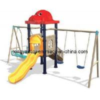 Wholesale Outdoor Combined Slide&Swing (TY-9107C) from china suppliers