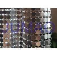Wholesale Antique Coated Metal Sequin Fabric Easy Installation Architectural Drapery from china suppliers