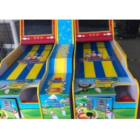 Buy cheap Two Player Redemption Tickets Coin Operated Bowling Machine from wholesalers