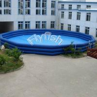 China backyard inflatable pools on sale
