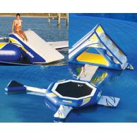 Wholesale Interesting inflatable water trampoline inflatable floating water park from china suppliers