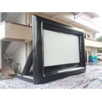 Wholesale Outdoor Inflatable Movie Screen 0.55mm PVC Tarpaulin Movie Screen from china suppliers