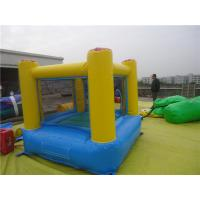PVC Tarpaulin Commercial Inflatable Bounce Houses UV resistance