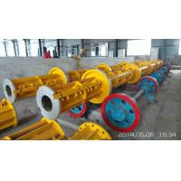 Wholesale Prestressed Concrete Spun Pile Reinforce Casted Steel Moulds Technical parameter of pole steel mould from china suppliers