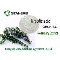 Wholesale Ursolic Acid Pure Natural Plant Extracts Loquat Leaf / Rosemary Extract Cosmetics from china suppliers