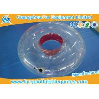 China 2018 New design TPU / PVC Durable Inflatable Swimming Ring Towable Ring on sale