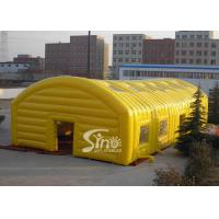 China Yellow Inflatable Outdoor Tent, Giant Inflatable Dome for Opening Ceremonies on sale