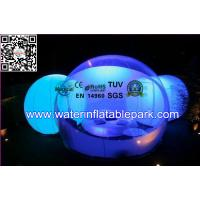 Wholesale Lighting Inflatable Bubble Tent For Outdoor Camping and Event from china suppliers