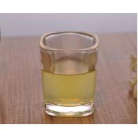 Wholesale Square Glassware Tall Skinny Shot Glass Personalised 2Oz Capacity from china suppliers