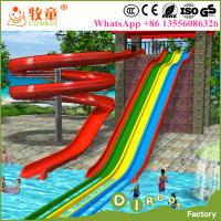 Buy cheap Private Pool Slides Open Spiral Slides and Rainbow Slides Made In China from wholesalers