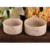 Wholesale 400ml decorative Ceramic Candle Holder 14OZ 20OZ 35OZ Three capacity from china suppliers