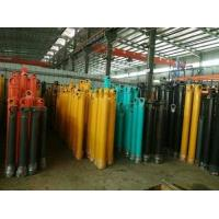 China Hang Upside Down Telescopic Cylinder Double Acting Heavy Duty Stoke 16m on sale