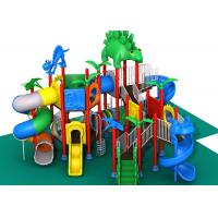 Professional Childrens Outdoor Playset , Outdoor Play Gym Equipment Dinosaur Style