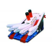Wholesale Commercial kids giant inflatable titanic slide board from china suppliers