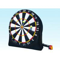 China Indoor Playground Inflatable Dart Board Sports Games , Inflatable Garden Toys For Toddlers on sale