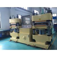 China 50HZ Rubber Brake Pad Making Machine With Automatic Pressure Retrieve And Oil Pump Stops Overtime System on sale
