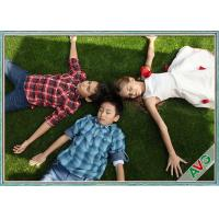Wholesale High Resilience / Skid Resistant Landscaping Synthetic Grass With 12000 Dtex from china suppliers