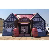 Wholesale Outdoor durable inflatable serving bar, inflatable pub tent, inflatable irish pub tent for sale from china suppliers