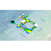 China CE ROHS Approved Floating Inflatable Water Park Trampoline Park For Water Play on sale