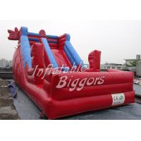 China Red Spider Man Kids Inflatable Slides CE UL , Large Inflatable Slides on sale