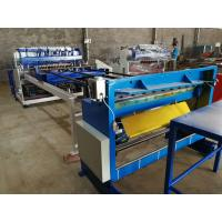 China Width of Mesh 1500mm Wire Mesh Welding Machine For Mesh Size 50x50mm on sale