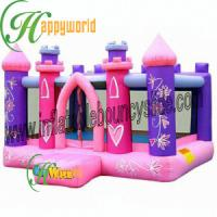 China Baby Small Inflatable Bouncy Castle For Rental / Jumper Moonwalk Castle on sale