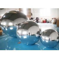 Wholesale Hanging Silver Inflatable Mirror Ball / Inflatable Mirror Balloon EN14960 from china suppliers