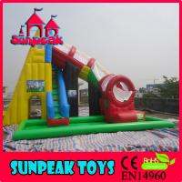China WL-1825 Giant Inflatable Slide For Sale Inflatable Stair Slide on sale