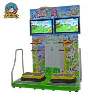 Wholesale Jumping Island Type Coin Operated Amusement Machines Colorful Fluorescent Light from china suppliers