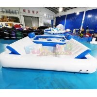 Wholesale Commercial Plato Inflatable Boat Toys Blow Up Floating Island from china suppliers