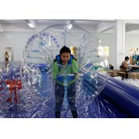 Wholesale Giant Human Football / Soccer Inflatable Bubble Ball TPU / PVC Material from china suppliers