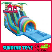 Wholesale WL-001B Backyard Commercial Inflatable Water Slide For Sale from china suppliers