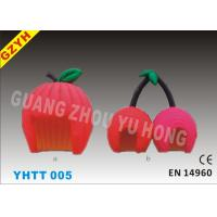 Wholesale 0.4mm PVC Red Cherry Candy Floss Inflatable Tent Shop YHTT-005 with 1100W Blower from china suppliers