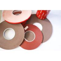 Wholesale Double Sided Foam Tape Gray carrier material color 120 degree temperature resistant from china suppliers
