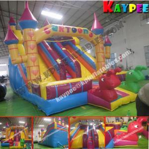 Wholesale Commercial Castle Slide Inflatable slide Game Colourful slide KSL091 from china suppliers