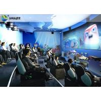 Wholesale Electric Dynamic 7D Cinema System / 3 People Capacity Movie Theater Chairs from china suppliers