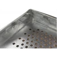 China Metal Perforated Aluminum Wire Mesh Tray For Food Industries , 600X400 Size on sale
