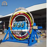 Wholesale Outside Fiberglass Seat Human Gyroscope Ride 3.5 * 2.2 * 3 Meter Size from china suppliers