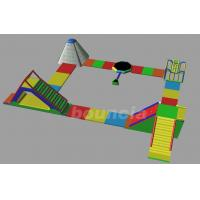 Quality Inflatable Commercial Water Splash Park / Floating Water Playground Equipment In for sale