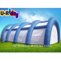 Wholesale 15M Long Giant Inflatable Paintball Arena , White Event Dome Tent For Paintball Game from china suppliers