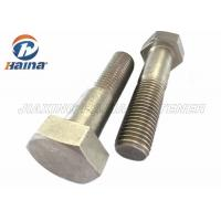 Quality Stainless Steel Bolts DIN931 SS304  SS316 M6-M64 Hex Head Bolts for sale