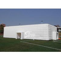 China 20x10m outdoor white giant inflatable cube tent for wedding parties made of best material from Sino Inflatables on sale