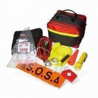 Wholesale Auto Emergency Tool Kit with 1 Piece Tow Rope and Torch from china suppliers