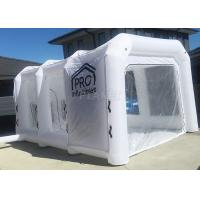 Quality White Inflatable Auto Paint Booth / Spray Paint Tent Customized Size for sale