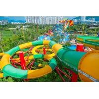 Wholesale Fiberglass Closed Spiral Black Hole Water Amusement Park Slides For Adult from china suppliers